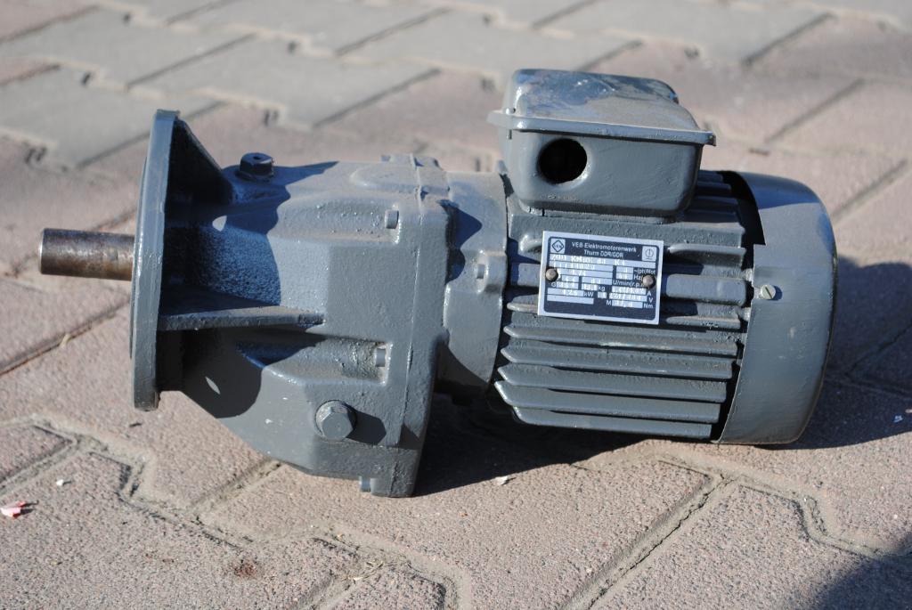 Golier Gearmotor 0,25kW. 63br./min ... VEM!