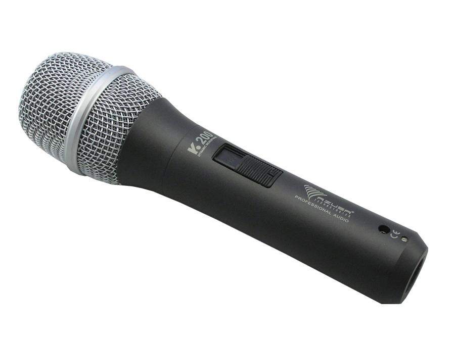 Profesionálny azusa dynamický mikrofón K-200 85DB