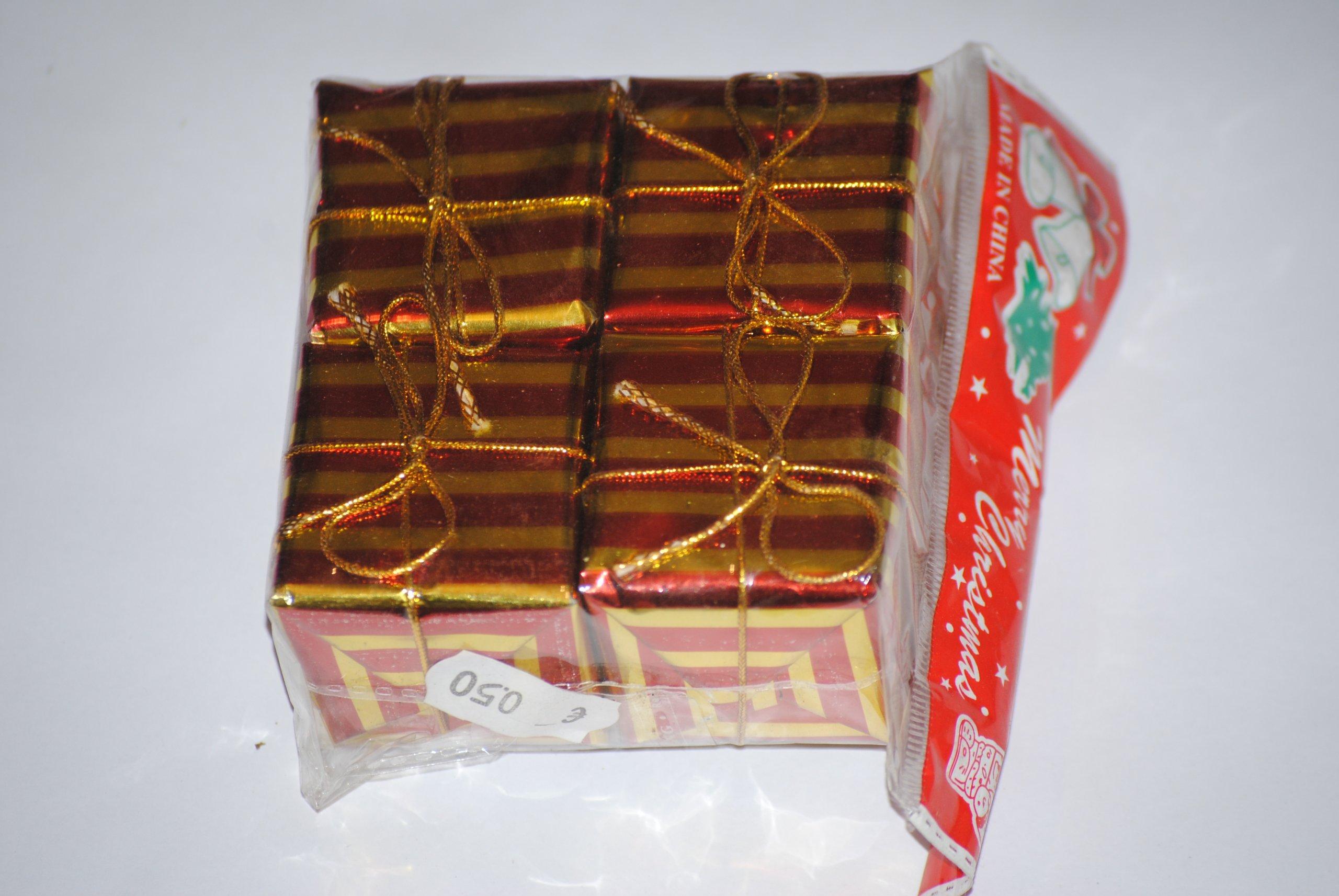 darčeky z červeného zlata 400 kusov darčekov 100x4
