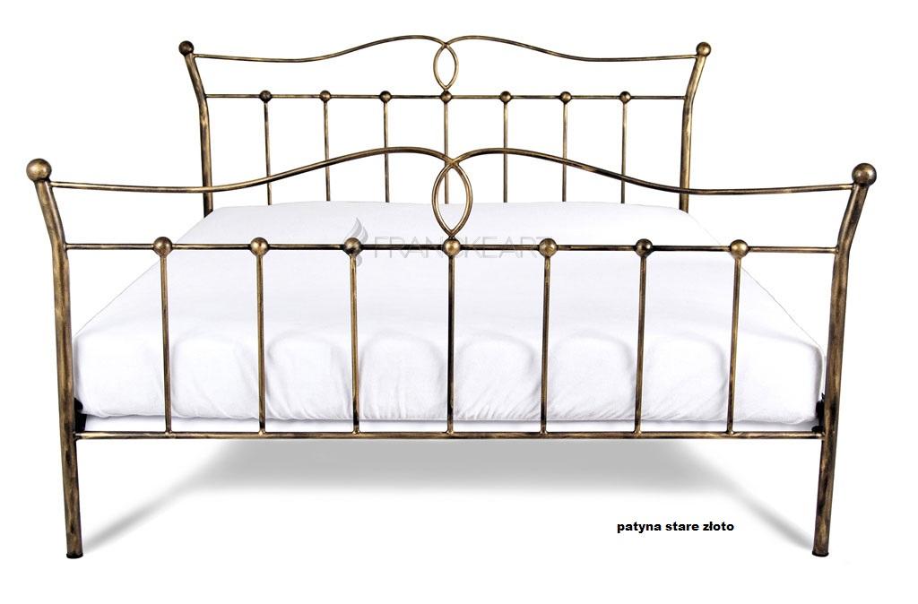 Kované železné kovové postele Liza 140x200 Výrobca