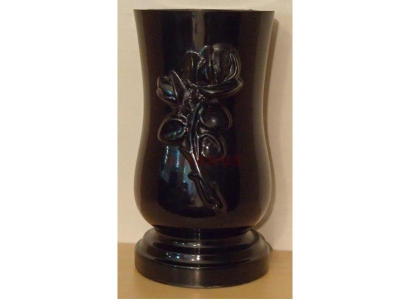 Polybeton Vase cintorín WZ.3 - tulipán s ružou
