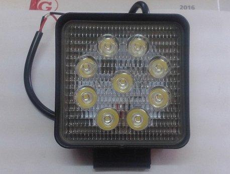 Лампа галоген рабочая LED 27W 9Led 2200Lm 12/24V