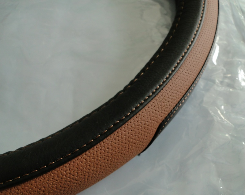 Picture of STEERING WHEEL COVER EKO LEATHER COVER 37-39CM