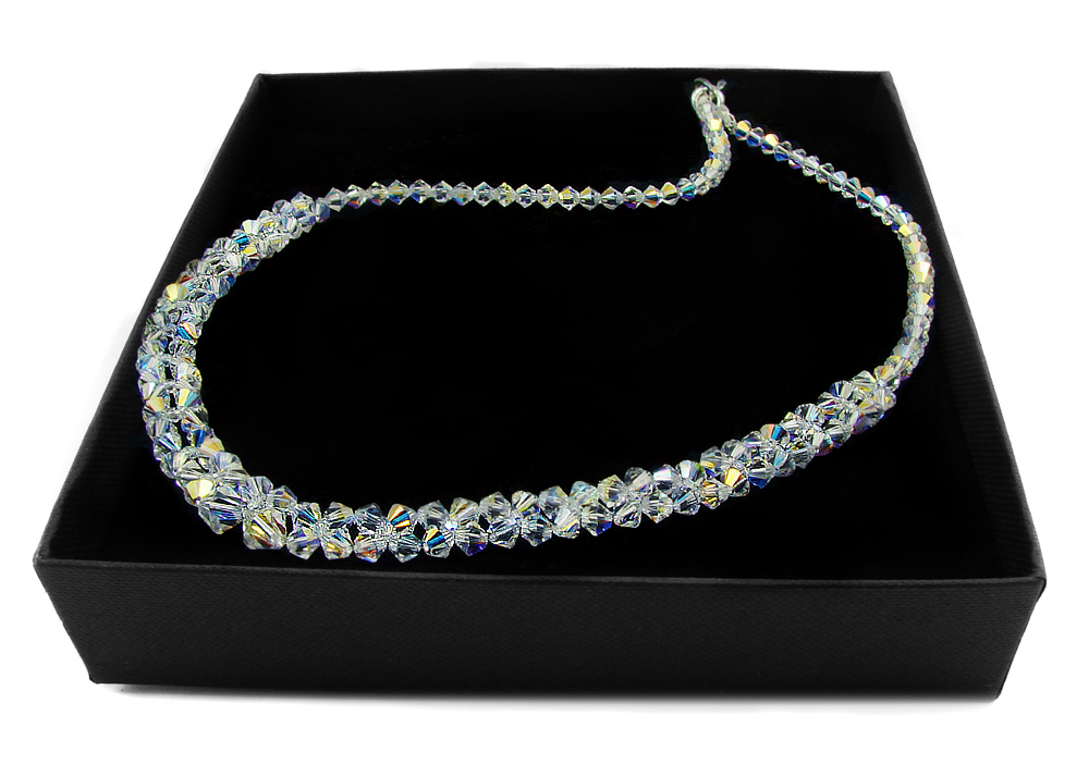 ARSYLION náhrdelník so Swarovski crystal crystal AB