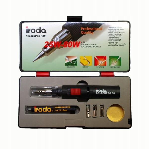 Solderpro80 горелка газовая, набор 25-80W Iroda