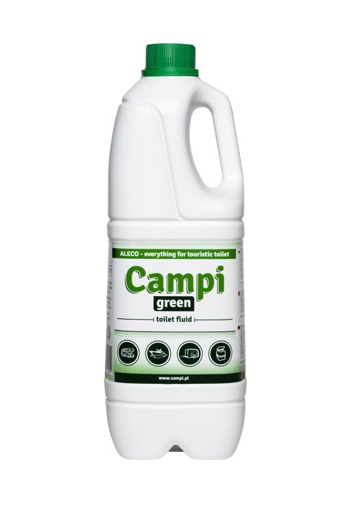 Turistické toalety Campi Green 2l EKO