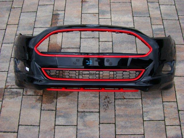 ford fiesta mk7 lift st бампер вперед передний