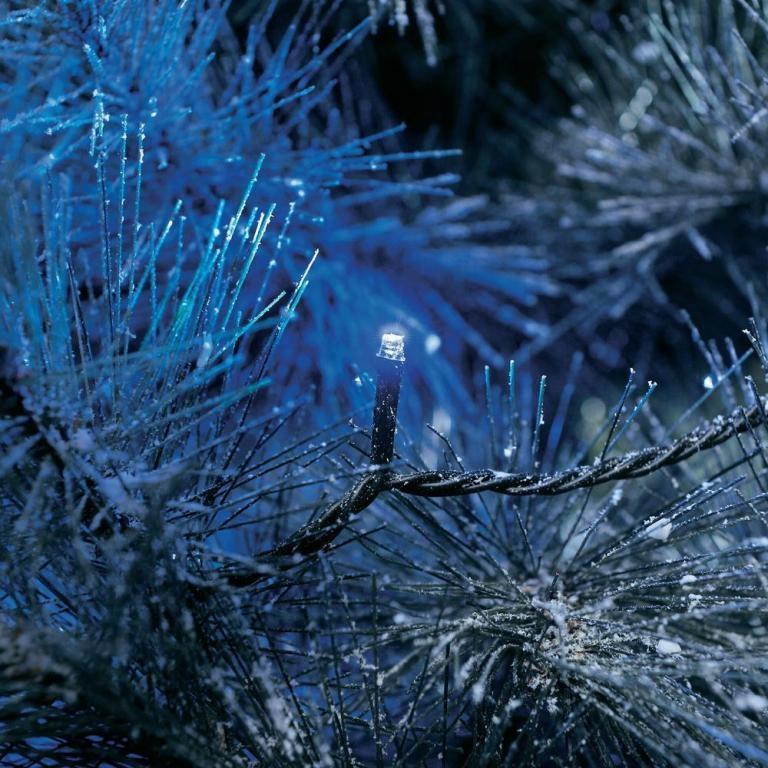 LED žiarovky modré 40 LED IP44 Konstsmide