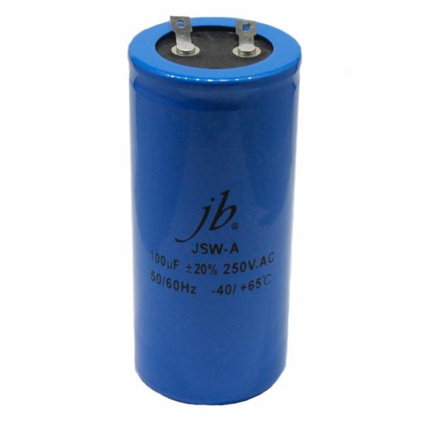 100uF 250V rozruchowy elektrolit JSW-A