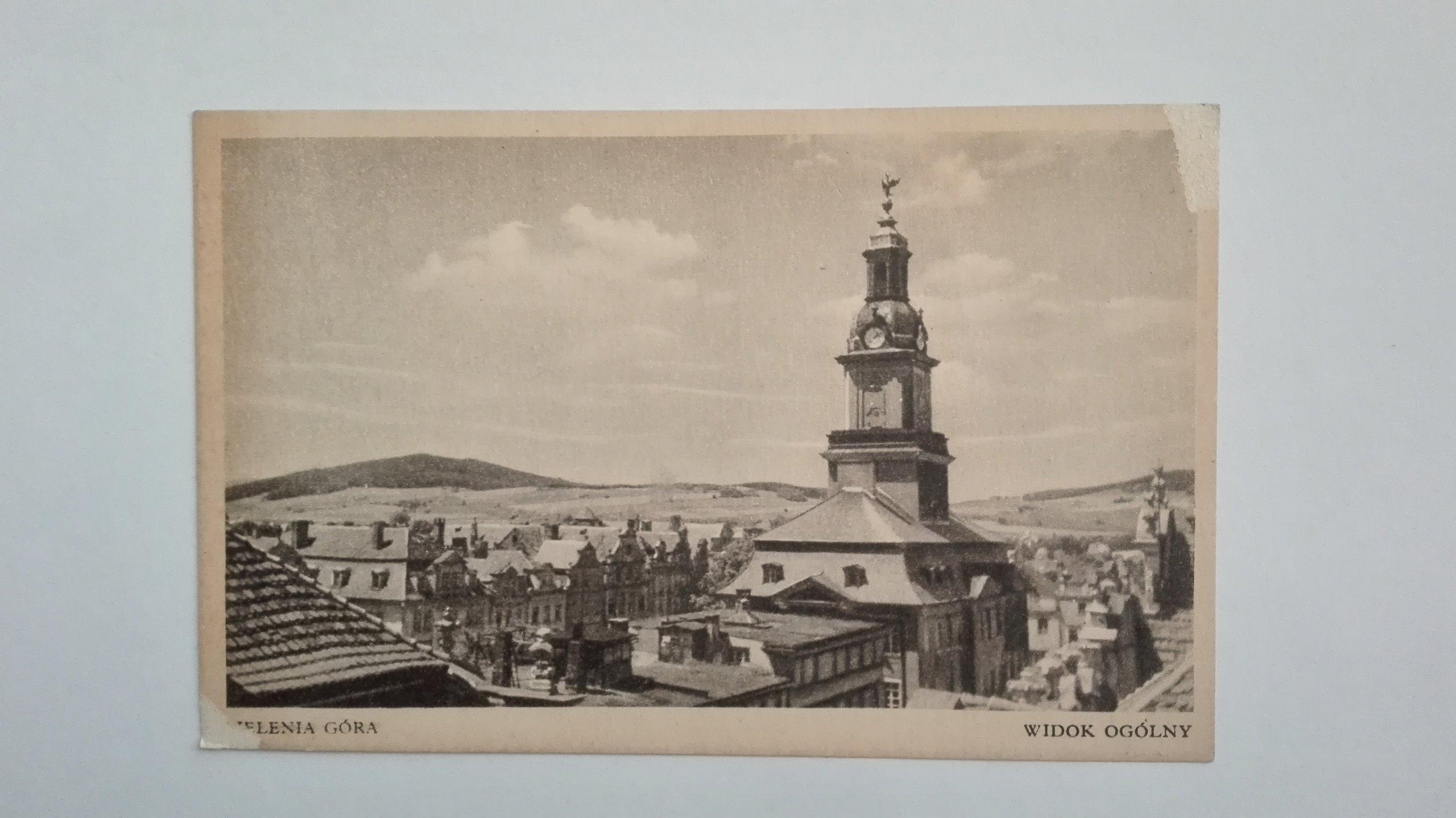 Купить открытка Еленя-Гура - общий вид Falk на Otpravka - цены и фото - доставка из Польши и стран Европы в Украину.