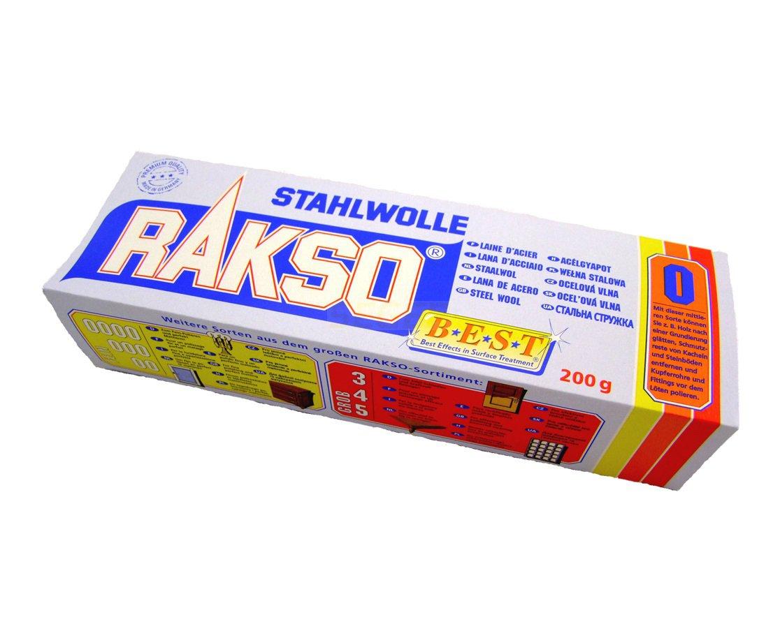 Weelna Steel Stahlwolle RAKSO 200G Granulácia 0