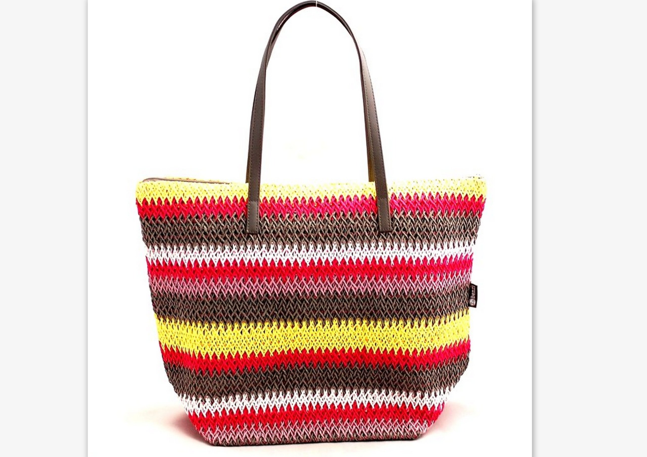 ede513bf83b3c Piękna kolorowa hiszpańska torba plażowa koszyk ! 6685780175 - Allegro.pl