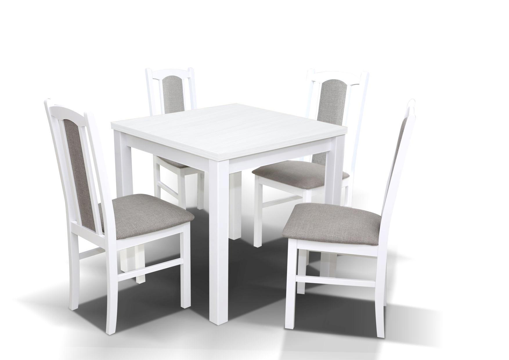 Zestaw nr 8 Stół GU IX + 4 krzesła MK VII mebleribes.pl
