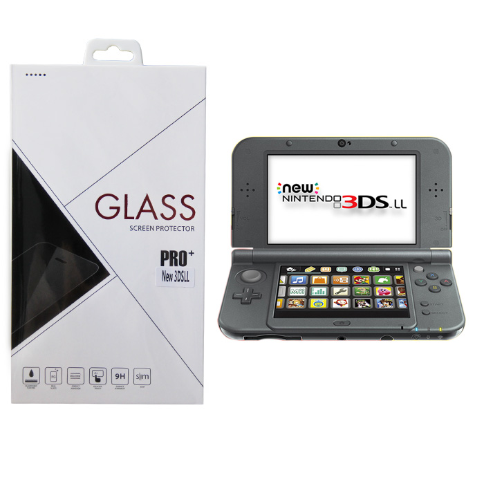 Item Tempered glass, tempered glass + aluminum New 3DS XL