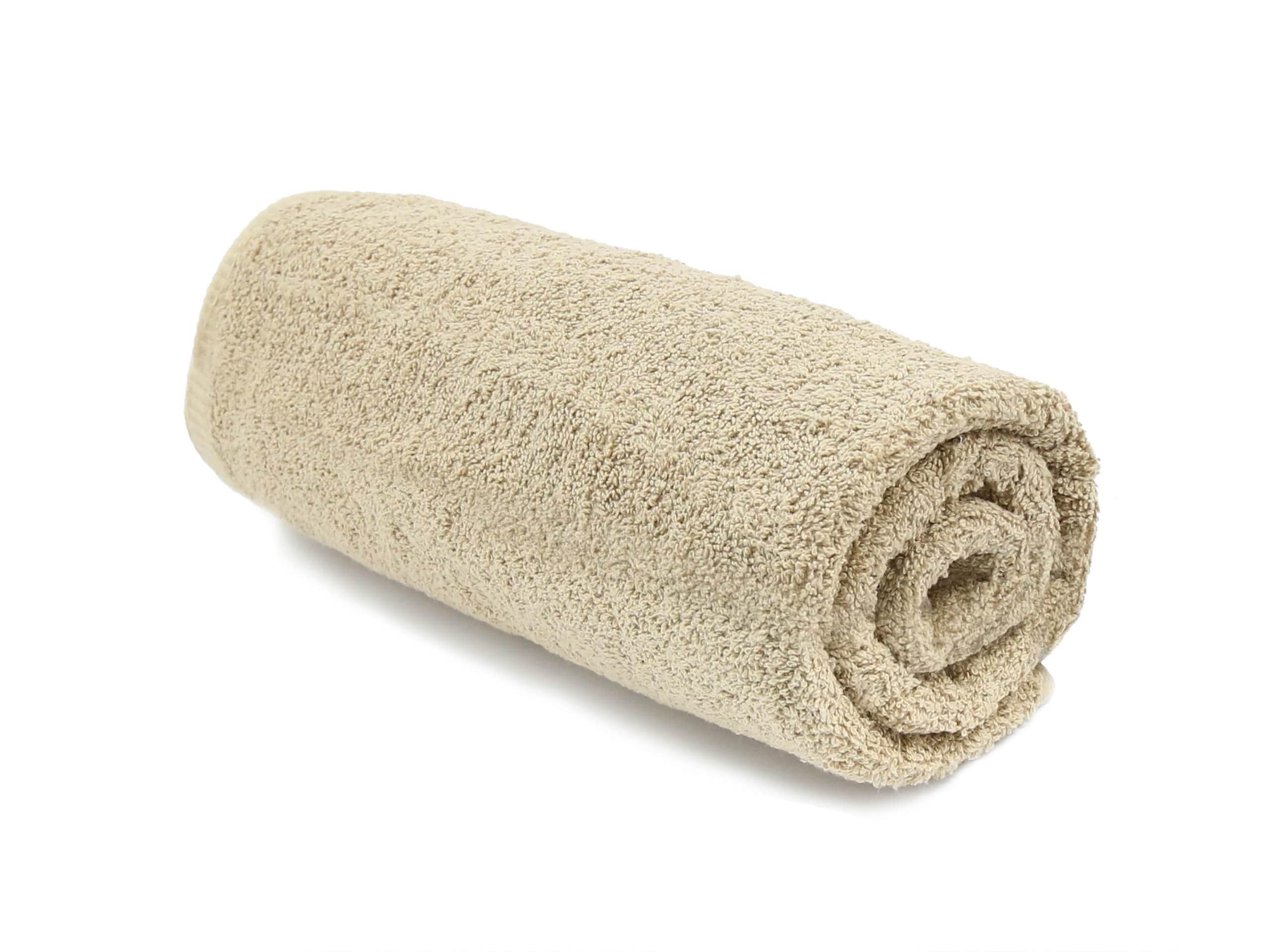 Ręczniki Kąpielowe 50x100 Baw 500g Beżowy Ręcznik