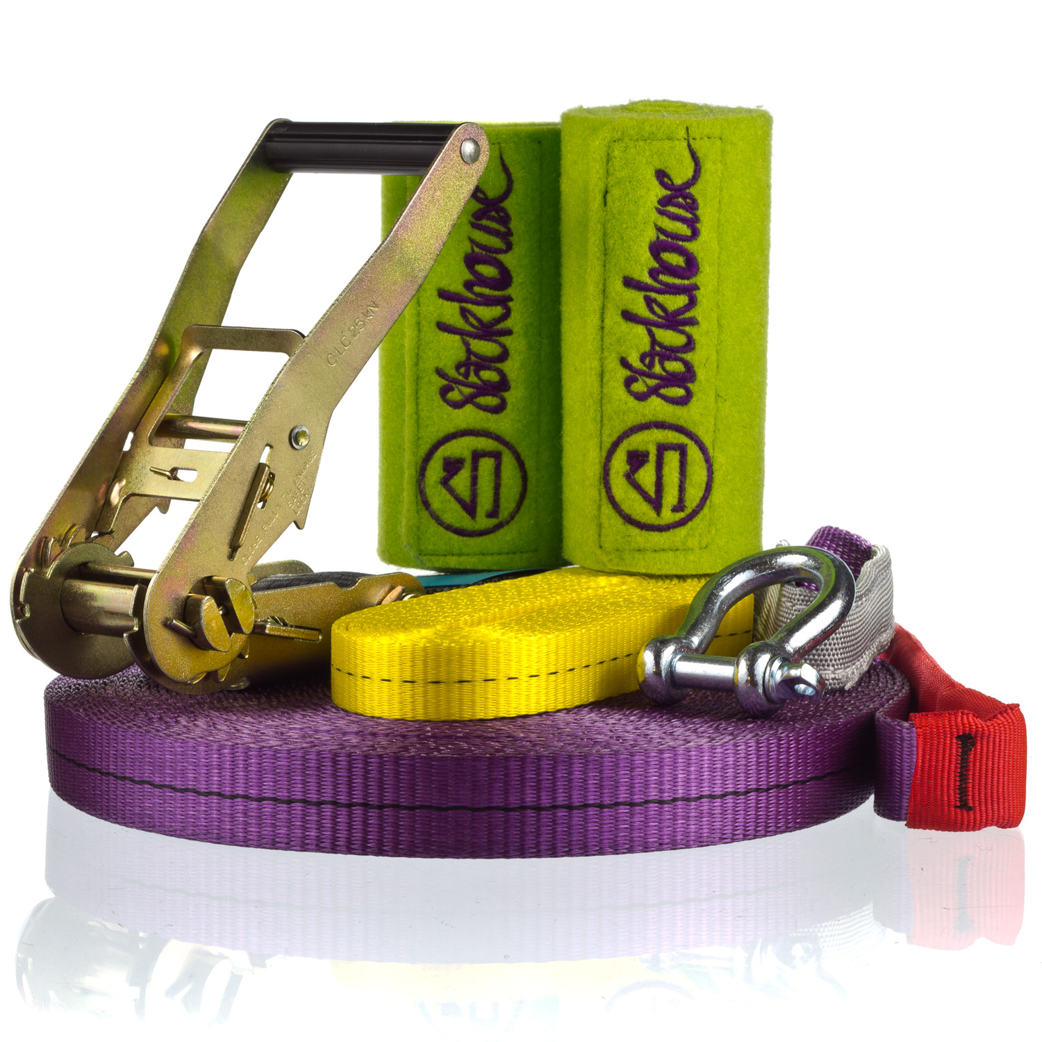 НАБОР slackline MonsterSet Plus 25 metrów