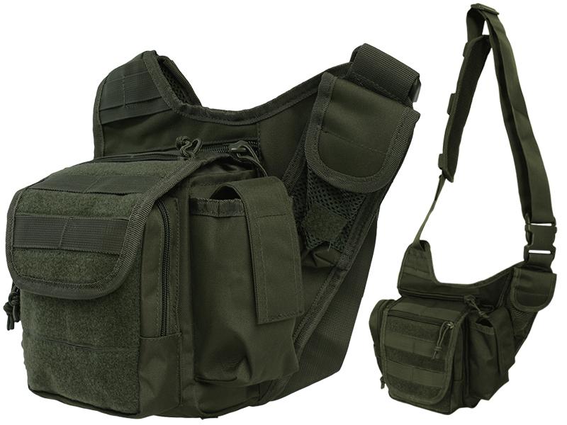 Vojenská taška taktická na jednom ramene