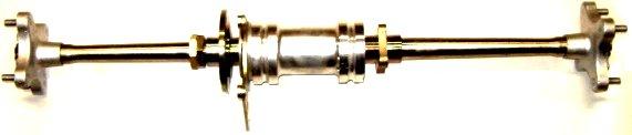 Bashan 200250 - ОСЬ Полная длина 85см ОРИГИНАЛ