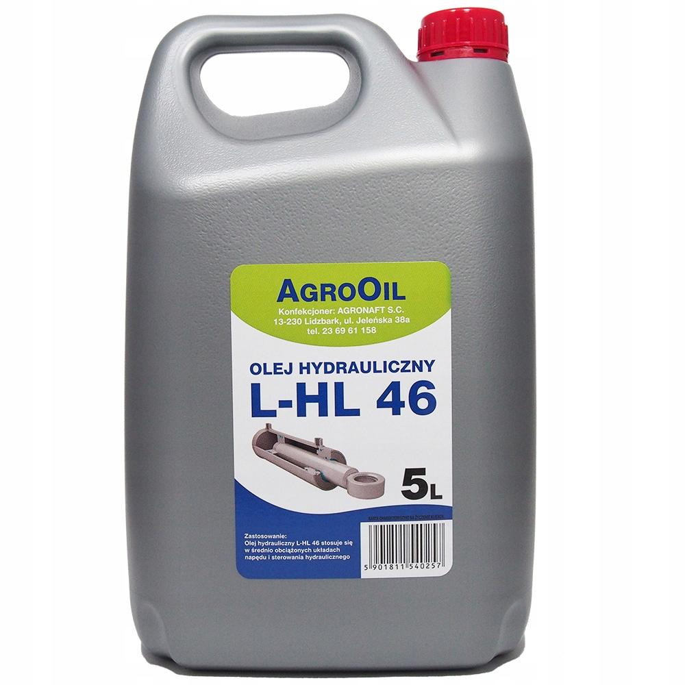 HYDROL L-HL 46 5L OLEJ HYDRAULICZNY HL46