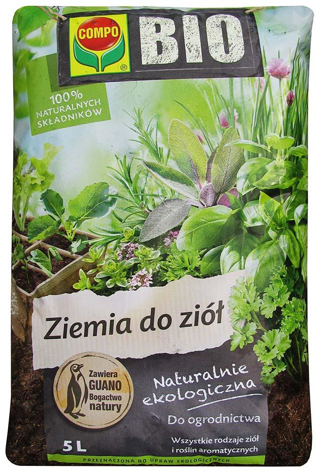 Substrát pre Herbs 5L Compo Bio Earth hnojivo Guano