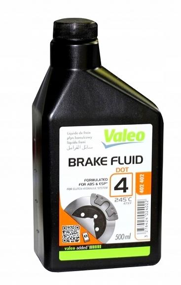 Тормозная жидкость DOT4 245st. C VALEO 500мл