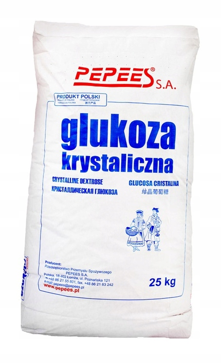 глюкоза кристалл декстроза 5кг польский