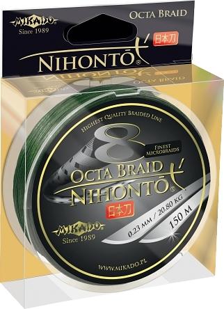 Mikado Nihonto Peňa Braid 0,10mm zelená