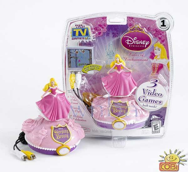 Disney Princess Television hra z COBI