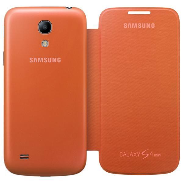 Etui Samsung Galaxy S4 mini pomarańcz Oryginalne