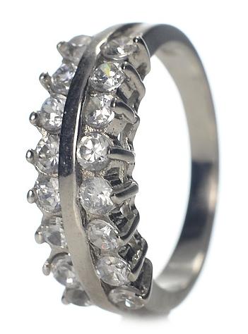 strieborný prsteň snubný prsteň zásnubný 925 sterling silver