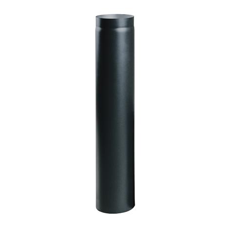 Čierna krbová rúra 100 cm fi 120,130