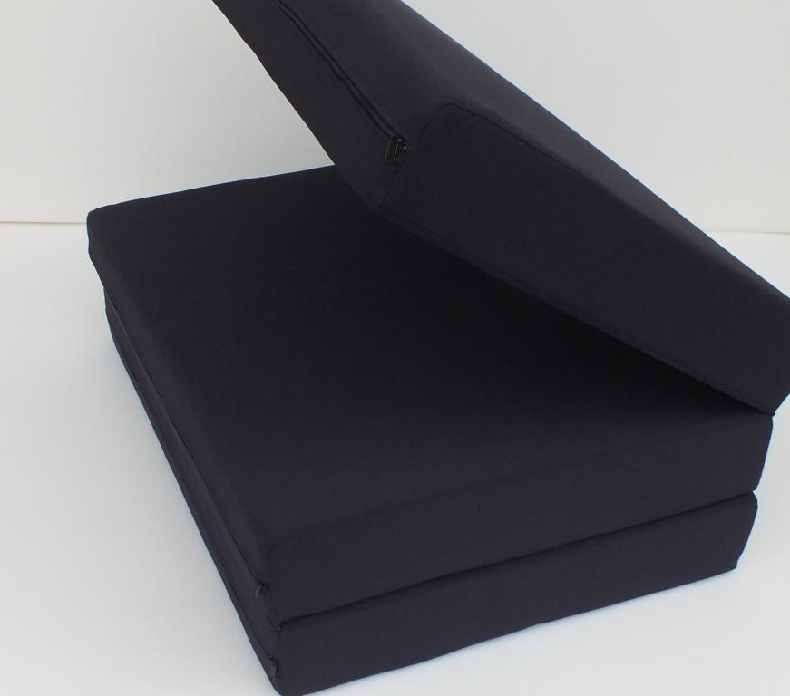 Materac składany solidnie wykonany 90x200x12.5cm