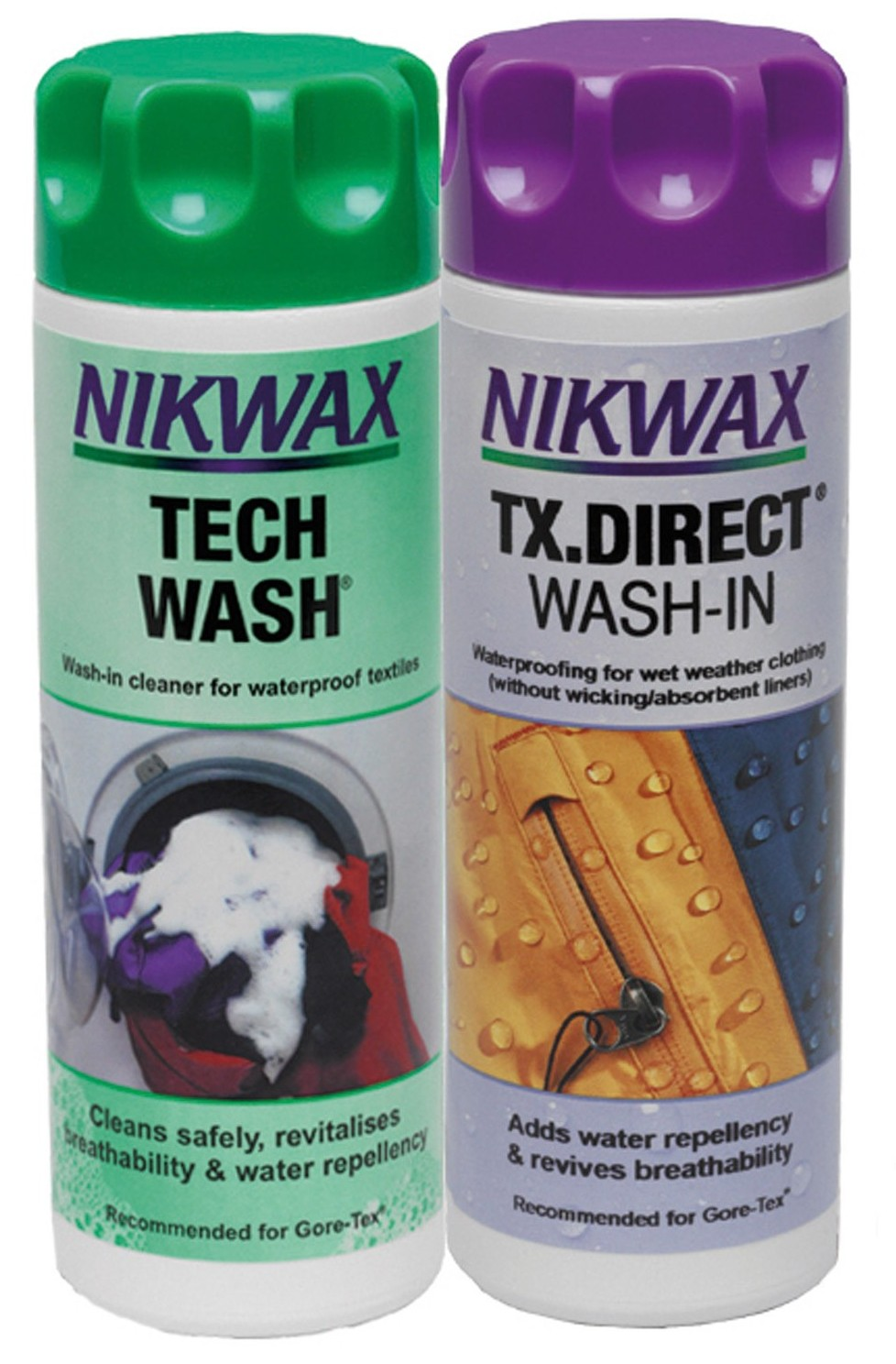 Набор Nikwax TECH WASH 300 мл + TX DIRECT 300 мл