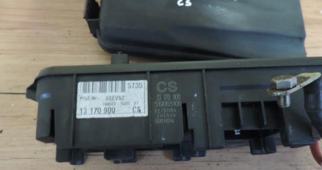 FUSE BOX OPEL VECTRA C 1.9 CDTI Vectra C Cdti Fuse Box on