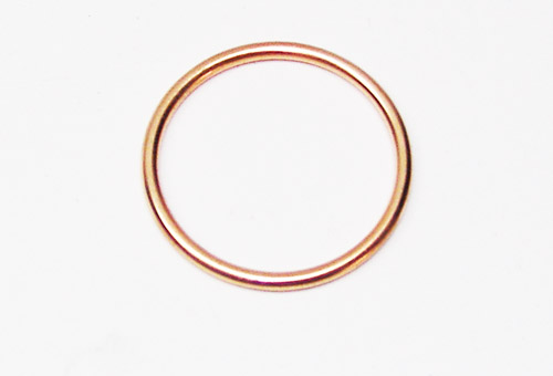 GASKET COPPER THE WHEEL EMISSION WSK 125
