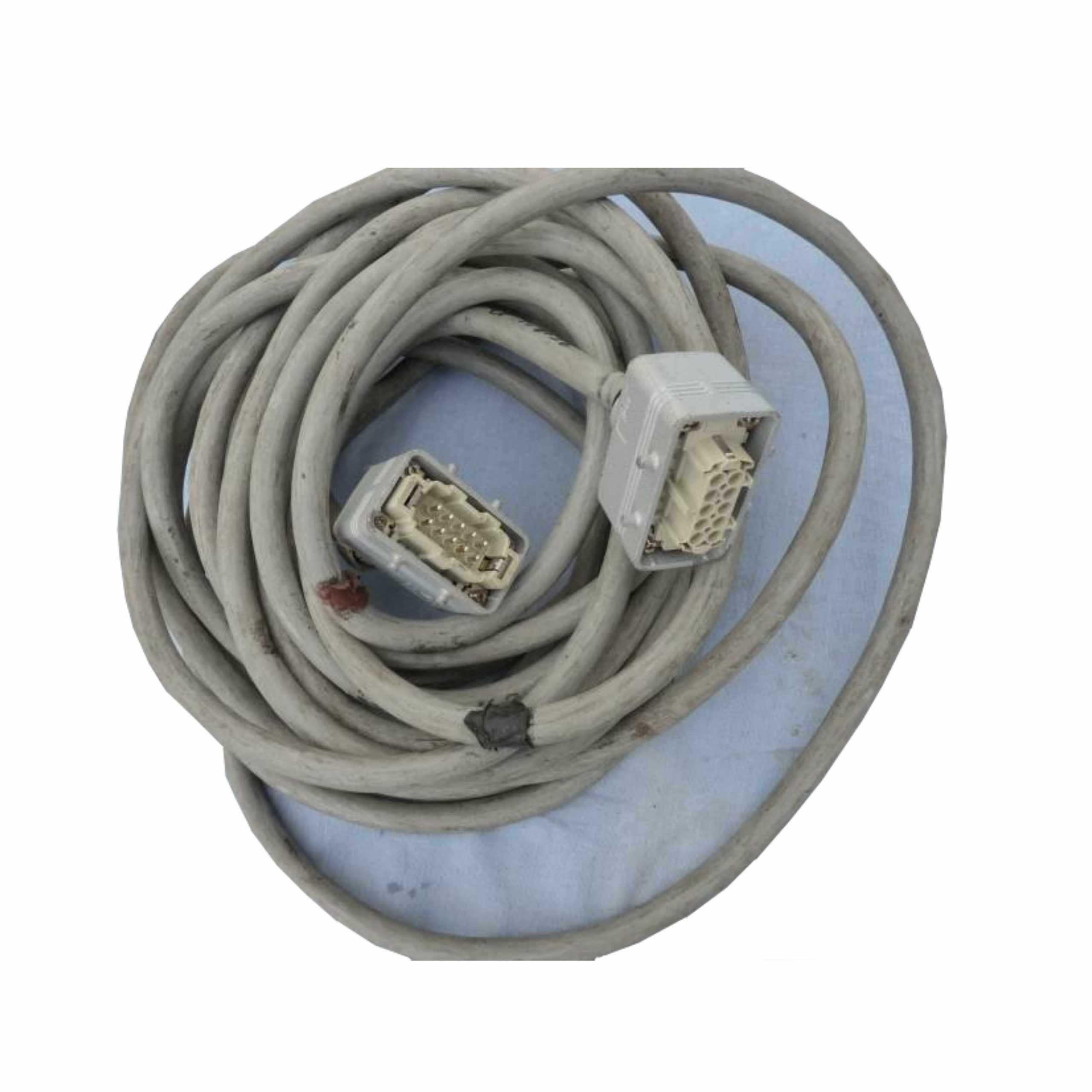 Viacúčelový kábel - 12m, Harting 10 PIN 16A / P konektory