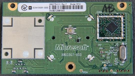 RF XBOX360 Modul Power Tile Communication Pad