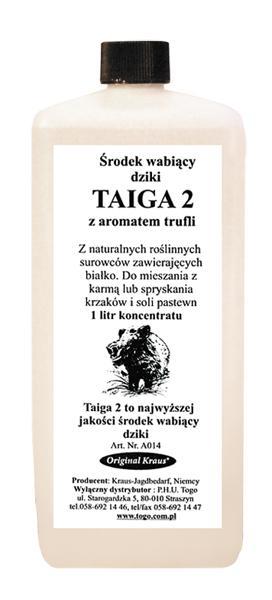 Na atraktant žijúcich s vôňou hľuzovky TAIGA2