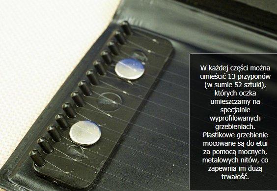 Portfel na gotowe przypony 25 cm Jaxon AK-DR910 Model Portfel