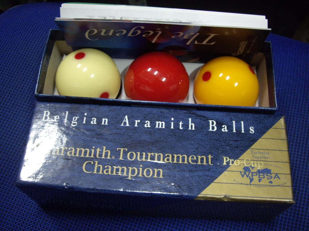 Bile Aramith Tournament Pro-Cup Champion WPBSA