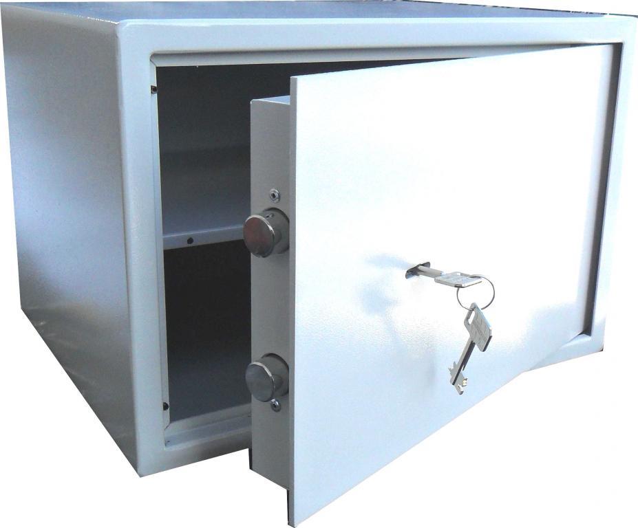 Bezpečnosť Vkladov box skriňa KL.S1 na krátke VEĽKÉ zbrane 30x44x35,5cm