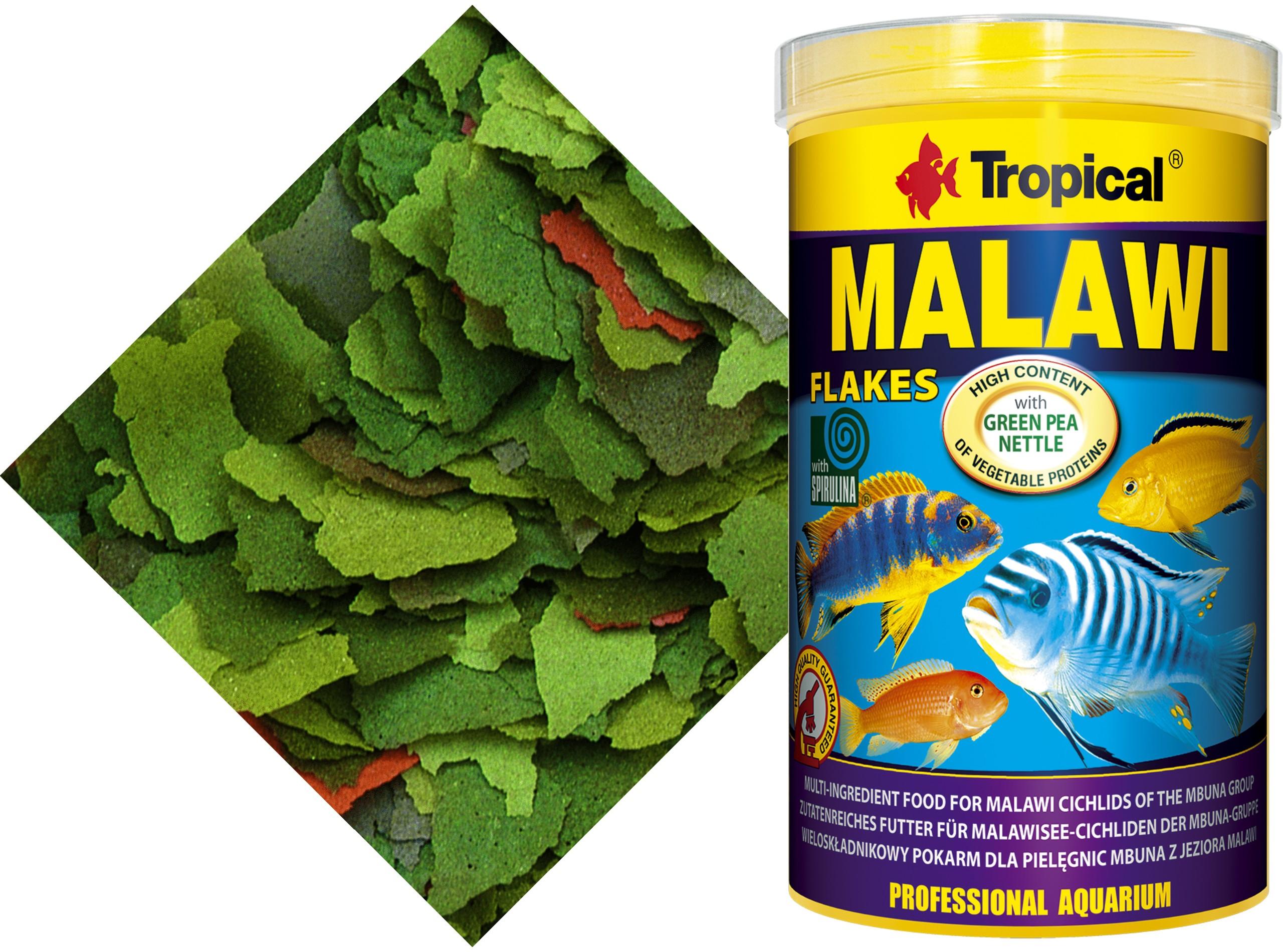 TROPICKÉ MALAWI 3000 ml/570gr. + Zadarmo
