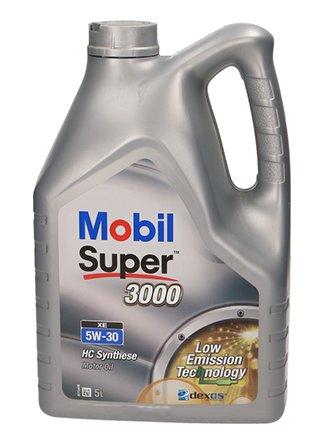 MOBIL SUPER 3000 XE 5W30 5л / 505.01 + БЕСПЛАТНОЕ МАСЛО