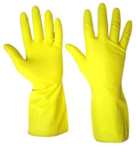 Перчатки хозяйственные на основе охраны ТРУДА, размер S