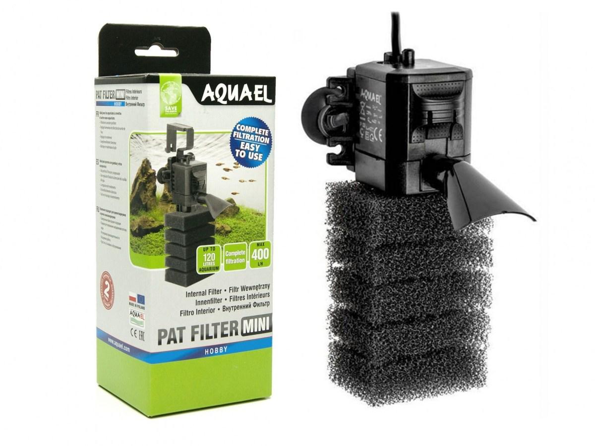 AQUAEL PAT MINI фильтр внутренний для аквариума до 120 л