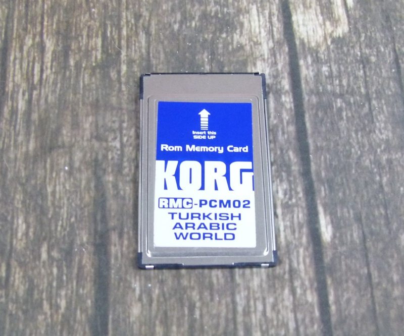 Karta KORG RMC PCM02 ROM FLASZ CHARD PRE PA 80 PRÍJMY!