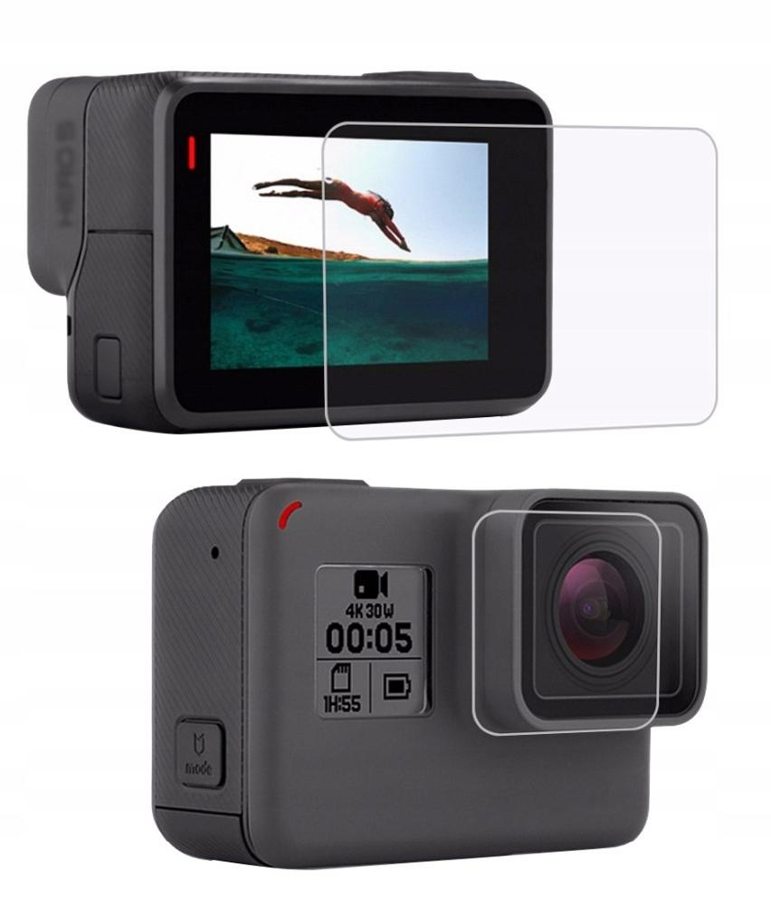 Osłona Szkło na Obiektyw Ekran LCD GoPro Hero 6 5