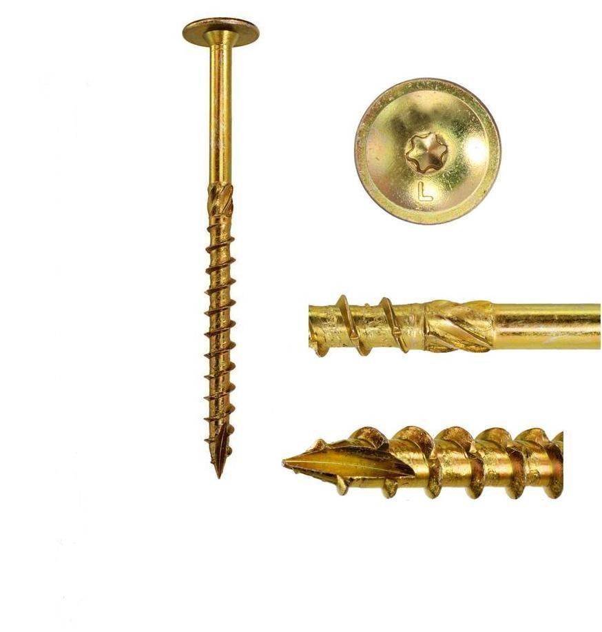 Skrutky skrutky na strešnú trus 8x140mm 10ks torx