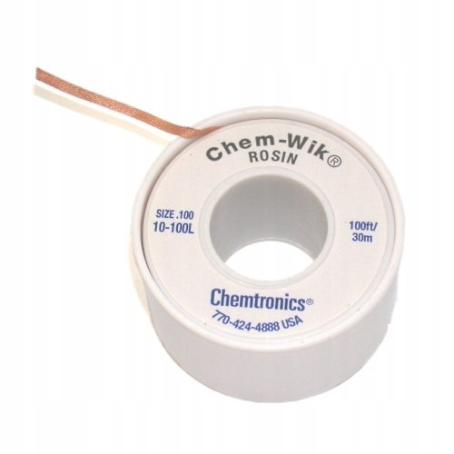Pletená šnúra CHEM-WIK LB na cín 2,8mm 30m