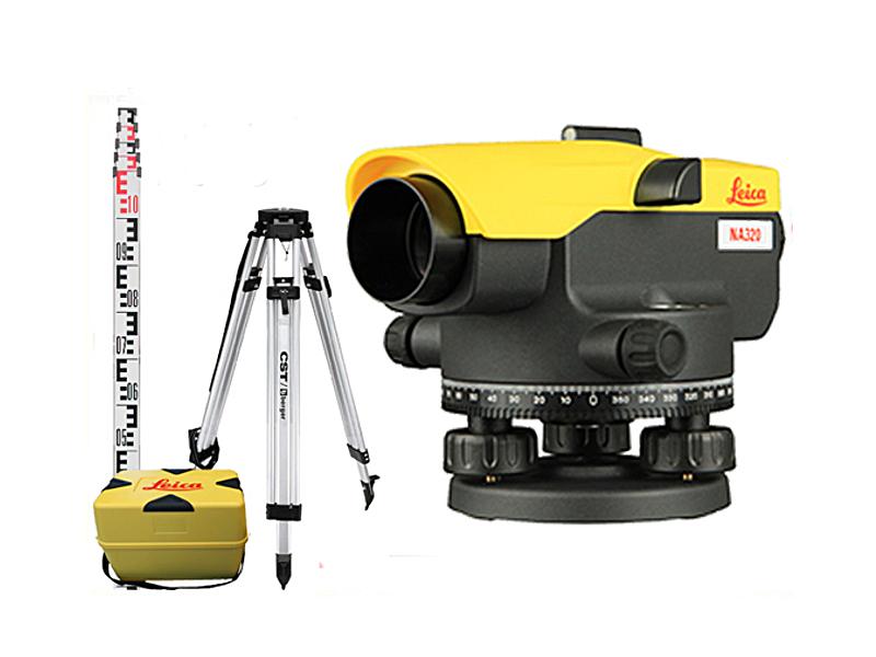 Optická úroveň Leica Jogger 20 Full Set!